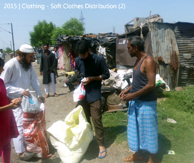 Soft Clothes Distribution