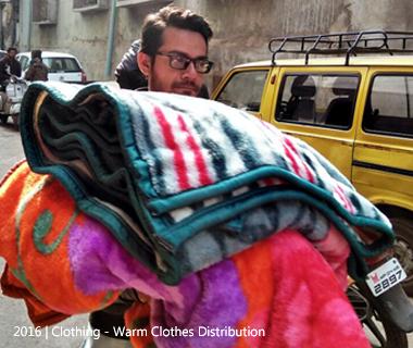 Warm Clothes Distribution