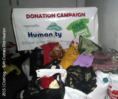 Soft Clothes Distribution